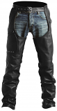 Pokerun Outlaw 2.0 Leather Chaps