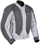 Tourmaster Flex Series 3 Womens Convertible Jacket (Silver/Gun Metal / Md) [Warehouse Deal]