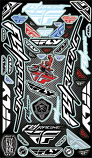Fly Racing 2015 Fly Sticker Sheet