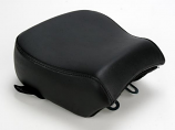 Danny Gray BigSeat Solo Seat with Backrest Receiver Pillion Pad