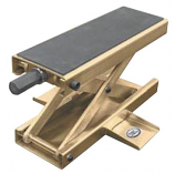 K&L Supply MC450 Center Jack with Non-Skid Pad