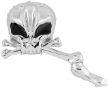 Bikers Choice Skull with Eyes Mirrors