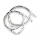 Barnett Stainless Clear-Coated Idle-Cruise Cable