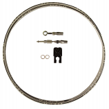 Magnum Build Your Own Braided Stainless DOT Hydraulic Clutch Line Kit