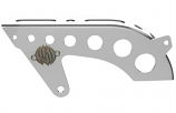 Roland Sands Tracker Front Pulley Guard