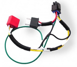 Signal Dynamics Single H-4 Adapter Harness for Plug and Play Headlight Module
