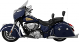 Mustang Studded Wide Touring Solo Seat With Backrest