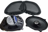 Hogtunes 5x7in. Front Speakers
