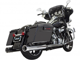 Bassani Manufacturing 4in. DNT Straight Can Muffler with Acoustically Tuned Baffle