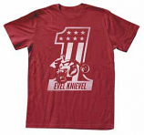 Evel Knievel Red One T-Shirt