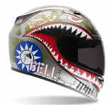 Bell Helmets Vortex Flying Tiger Helmet
