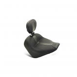 Mustang Vintage Solo Seat with Driver Backrest for Scout