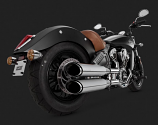 Vance & Hines Twin Slash Slip On