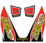 Pro Circuit T-6 Exhaust Decal