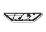 Fly Racing 4in. Fly Street Decal