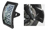 Figure Machine License Plate Frames with LED