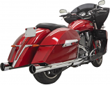 Bassani Manufacturing 4in. DNT Slip-Ons
