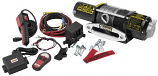 Quadboss 5000lb Winch with Dyneema Rope
