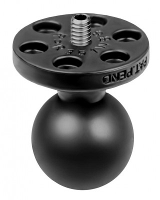Ram Mounts RAM 1in. Diameter Ball with 1/4in.-20 Stud for Cameras, Video & Camcorders