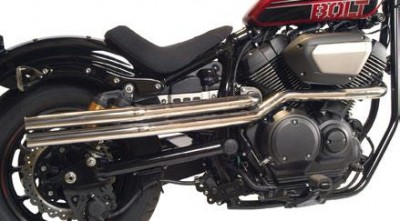MAC 2-Into-2 High Pipe Drag Exhaust System