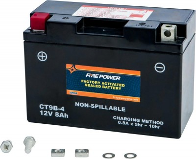 Fire Power Factory Activated Maintenance Free Sealed Battery