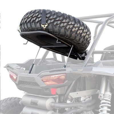 HMF Engineering Spare Tire Rack with Lift Supports