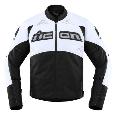 Icon Contra2 Leather Perforated Jackets