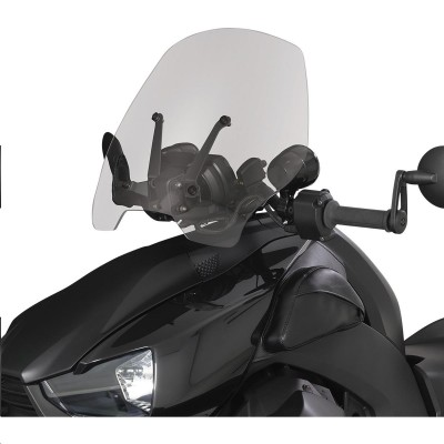 Show Chrome Adjustable Windshield for Can-Am Ryker