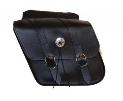 Willie & Max Deluxe Slant and Compact Slant Saddlebags