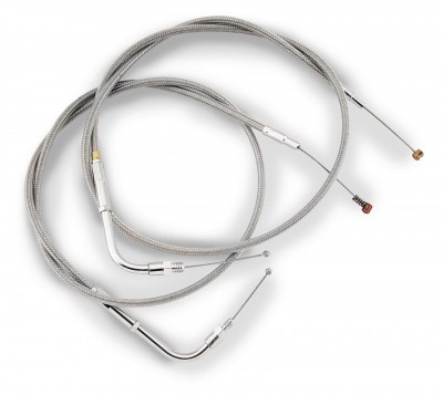 Barnett Stainless Clear-Coated Throttle Cable