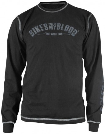 Speed & Strength Bikes Are In My Blood Long Sleeve T-Shirt