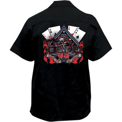 Lethal Threat Let It Ride Work Shirt
