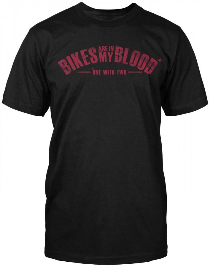 Speed & Strength Bikes Are In My Blood T-Shirt