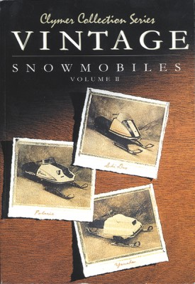 Clymer Collection Series Vintage Snowmobile Manual