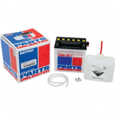 Parts Unlimited 12V Conventional Battery Kit