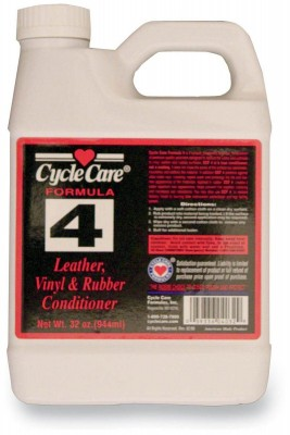 Cycle Care Formulas Formula 4 Leather, Vinyl and Rubber Conditioner