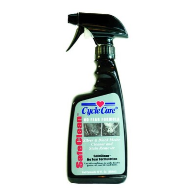 Cycle Care Formulas Safe Clean Silver and Black Engine Cleaner