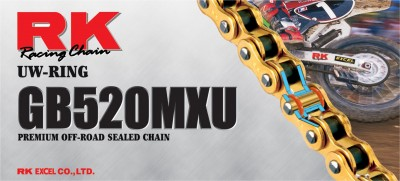RK 520 MXU GB Sealed UW-Ring Chain