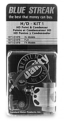 Standard Motor Products Blue Streak Points And Condenser Kit