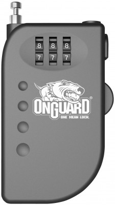 Onguard Terrier Roller Cable Combination Locks