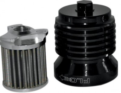 PC Racing Flo Stainless Steel Reusable Spin On Oil Filter