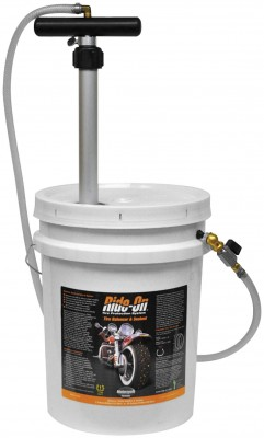 Ride-On 5gal. Pail Hand Pump with Meter