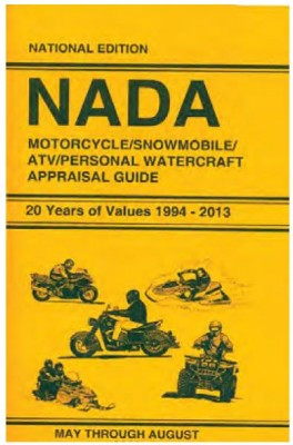 Nada Appraisal Guides Motorcycle Atv Snowmobile Personal Watercraft