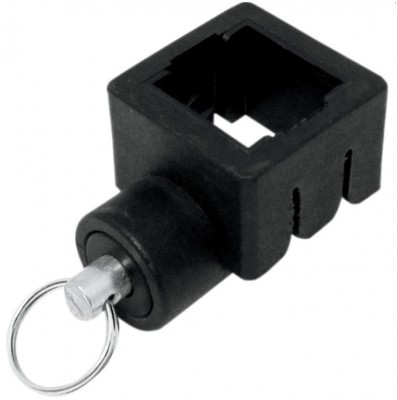 Promotional Items Vendor Canopy Replacement Part for Plastic Pull Pin Fitting for Std. Leg Bottom Collar