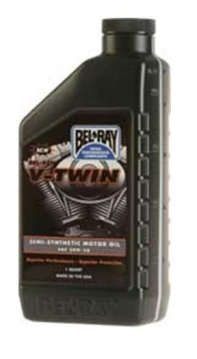 Bel-Ray V-Twin Semi-Synthetic Engine Oil - 20W50