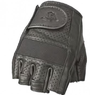 Highway 21 Half Jab Perforated Leather Gloves