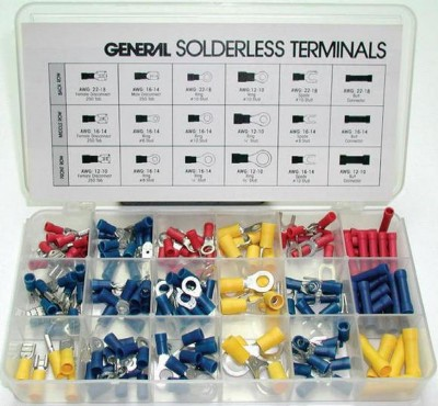Sports Parts Inc Insulated Terminal Assortment - 175 Pieces