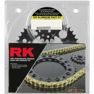 RK Quick Acceleration Chain Kit with Steel Sprocket