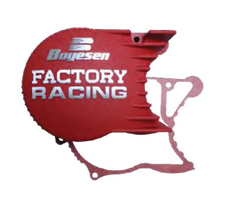 Boyesen Factory Ignition Cover - Red