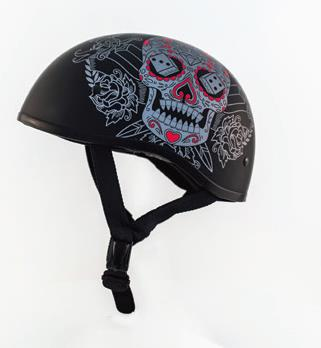ZOX Retro Old School Muerte Helmets